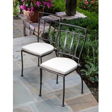 Semplice Bistro Chairs with Cushions (Set of 2 )