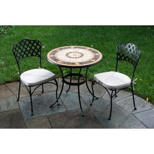 Compass Mosaic Bistro Set