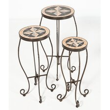 <strong>Alfresco Home</strong> Formia 3 Piece Plant Stand