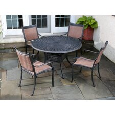 Pilot 5 Piece Dining Set