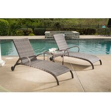 Tutto All Weather Wicker Double Chaise Lounge