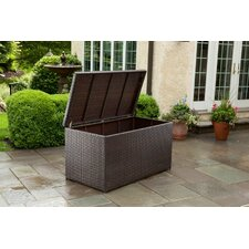 All Weather Wicker Outdoor Storage Box