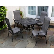 <strong>Alfresco Home</strong> Hemingway 5 Piece Dining Set
