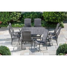 <strong>Alfresco Home</strong> Hemingway 9 Piece Square Dining Set