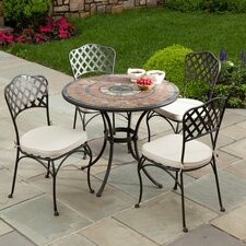 Asti  5 Piece Dining Set