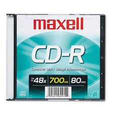 MX648201 OEM CD and DVD, 80 Min Page Yield, Silver