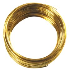 75' 22 Gauge Brass Hobby Wire 50152