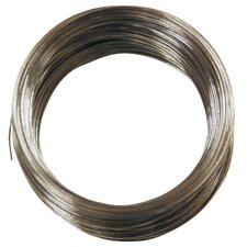 100' 24 Gauge Galvanized Steel Hobby Wire 50136