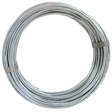 100' 12 Gauge Galvanized Steel Hobby Wire 50141