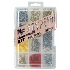 662 Piece Household Assortment Kit