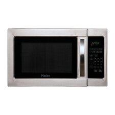 1.0 Cu. Ft. 1000W Haier Touch Microwave