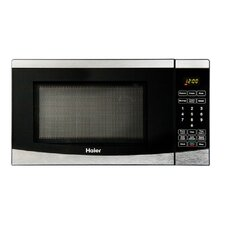 0.7 Cu. Ft. 700W Haier Touch Microwave