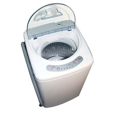 <strong>Haier</strong> 1 Cu. Ft. Pulsator Washing Machine with Stainless Steel Tub