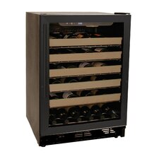 50 Bottle Single Zone Built-In Wine Refrigerator