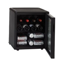 17 Bottle Single Zone Wine Refrigerator