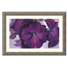 Museum Reproductions 'Petunias, 1925' by Georgia O'Keeffe Framed Painting Print