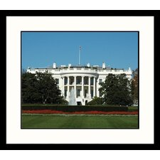 National Treasures White House Day Framed Photographic Print