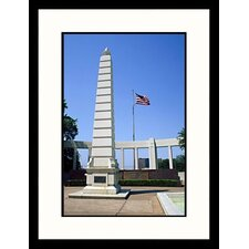 National Treasures 'Dealey Plaza Dallas, Texas' by Mark Gibson Framed Photographic Print