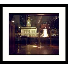 <strong>Great American Picture</strong> Liberty Bell, Night Framed Photograph