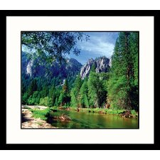 <strong>Great American Picture</strong> Merced River View Framed Photograph
