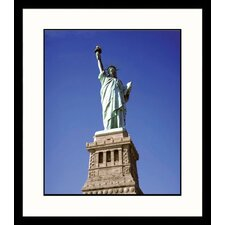 National Treasures Statue of Liberty Framed Photographic Print
