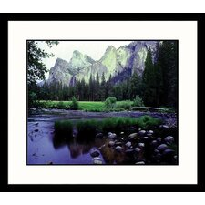 National Treasures Yosemite Spring Framed Photographic Print