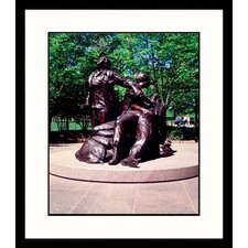 Vietnam Women's Memorial Framed Photograph