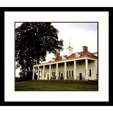 Mount Vernon Framed Photograph