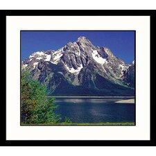 National Treasures Grand Tetons Framed Photographic Print