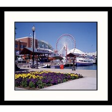<strong>Great American Picture</strong> Navy Pier Framed Photograph