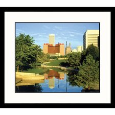 <strong>Great American Picture</strong> Downtown Omaha Framed Photograph - Ed Lallo