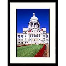 Cityscapes 'State Capital in Little Rock' by Ralph Krubner Framed Photographic Print
