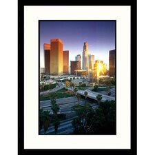Cityscapes 'Los Angeles, California' by Mitch Diamond Framed Photographic Print