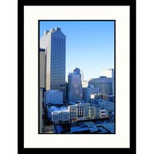 Cityscapes 'Canal and Central Business District in Louisiana' by Barry Winiker Framed Photographic Print