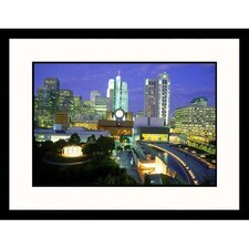 <strong>Great American Picture</strong> Yerba Buena Gardens in San Francisco Framed Photograph - Mark Gibson