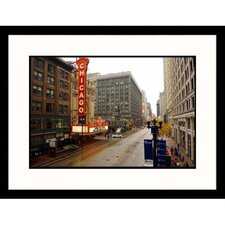 Cityscapes 'High Rise Buildings Chicago' by Keith Levit Framed Photographic Print