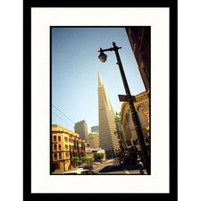 <strong>Great American Picture</strong> Street View Downtown San Francisco Framed Photograph