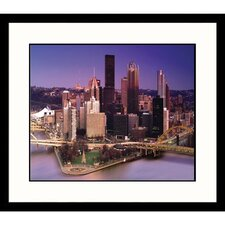 <strong>Great American Picture</strong> Pittsburgh Skyline Framed Photograph - Larry Davis