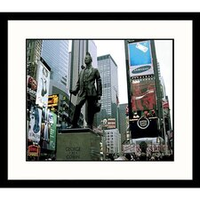<strong>Great American Picture</strong> Times Square New York Framed Photograph