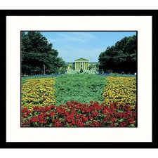 Art Museum Spring Framed Photograph