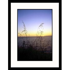 Seascapes 'Big Sur Sunset' by Mike Hipple Framed Photographic Print
