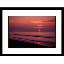 Seascapes 'Hilton Head Sunrise' by Jeff Greenberg Framed Photographic Print