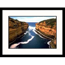 <strong>Great American Picture</strong> Australia Cliffs Framed Photograph