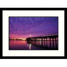 <strong>Great American Picture</strong> Cape May Bridge Framed Photograph - Rudi Von Briel