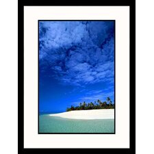 <strong>Great American Picture</strong> Tropical Beach Framed Photograph - Stuart Westmoreland