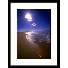 <strong>Great American Picture</strong> Beach Overview Framed Photograph - Doug Page