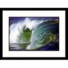 <strong>Great American Picture</strong> Ocean Wave II Framed Photograph - Hank Fotos