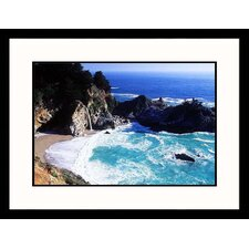 <strong>Great American Picture</strong> McWay Falls, California Framed Photograph - Cheyenne Rouse