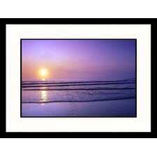 Seascapes 'Cape Cod Sunrise' by Steve Dunwell Framed Photographic Print