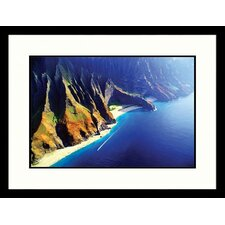 Seascapes Hawaii Coast Framed Photographic Print